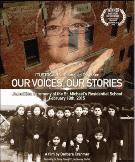 DVD - Our Voices, Our Stories by Barb Cranmer
