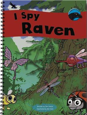 Raven Series: I Spy Raven (Big Book)