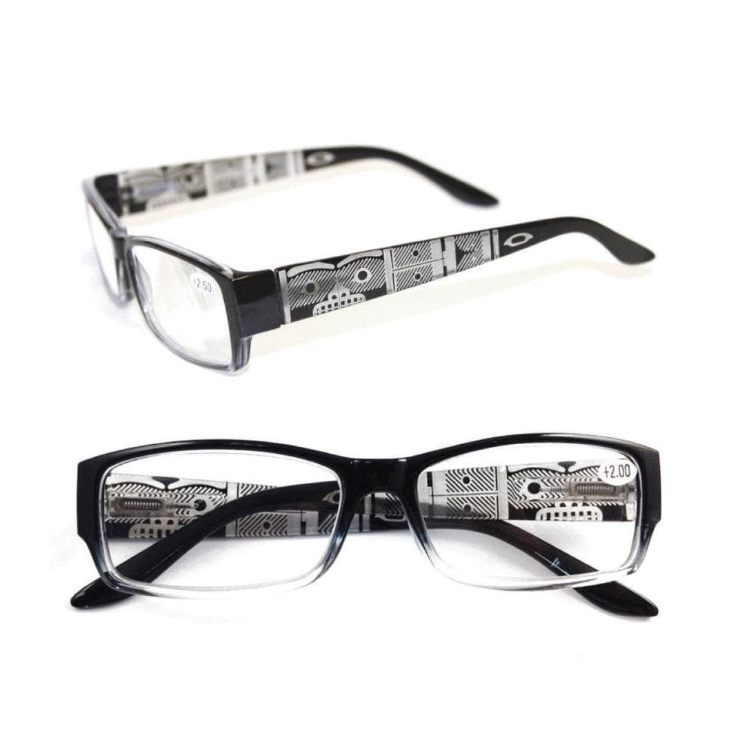 Chilkat by Corey W. Moraes - Reading Glasses - Black +1.50