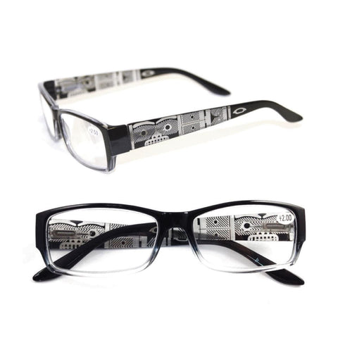 Chilkat by Corey W. Moraes - Reading Glasses - Black +2.00