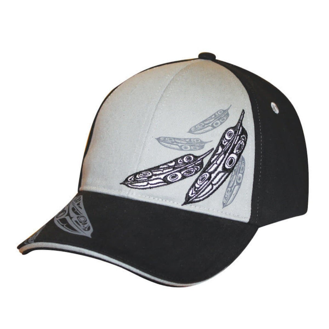 Stretch Fit Cap - Feathers by Trevor Angus, L/XL