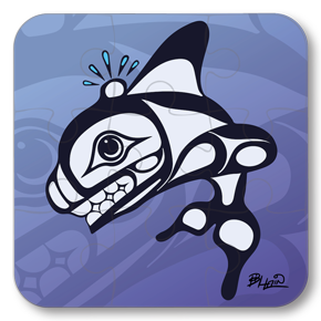 Strong Learners Puzzle: Bill Helin - Orca (9 Pieces)
