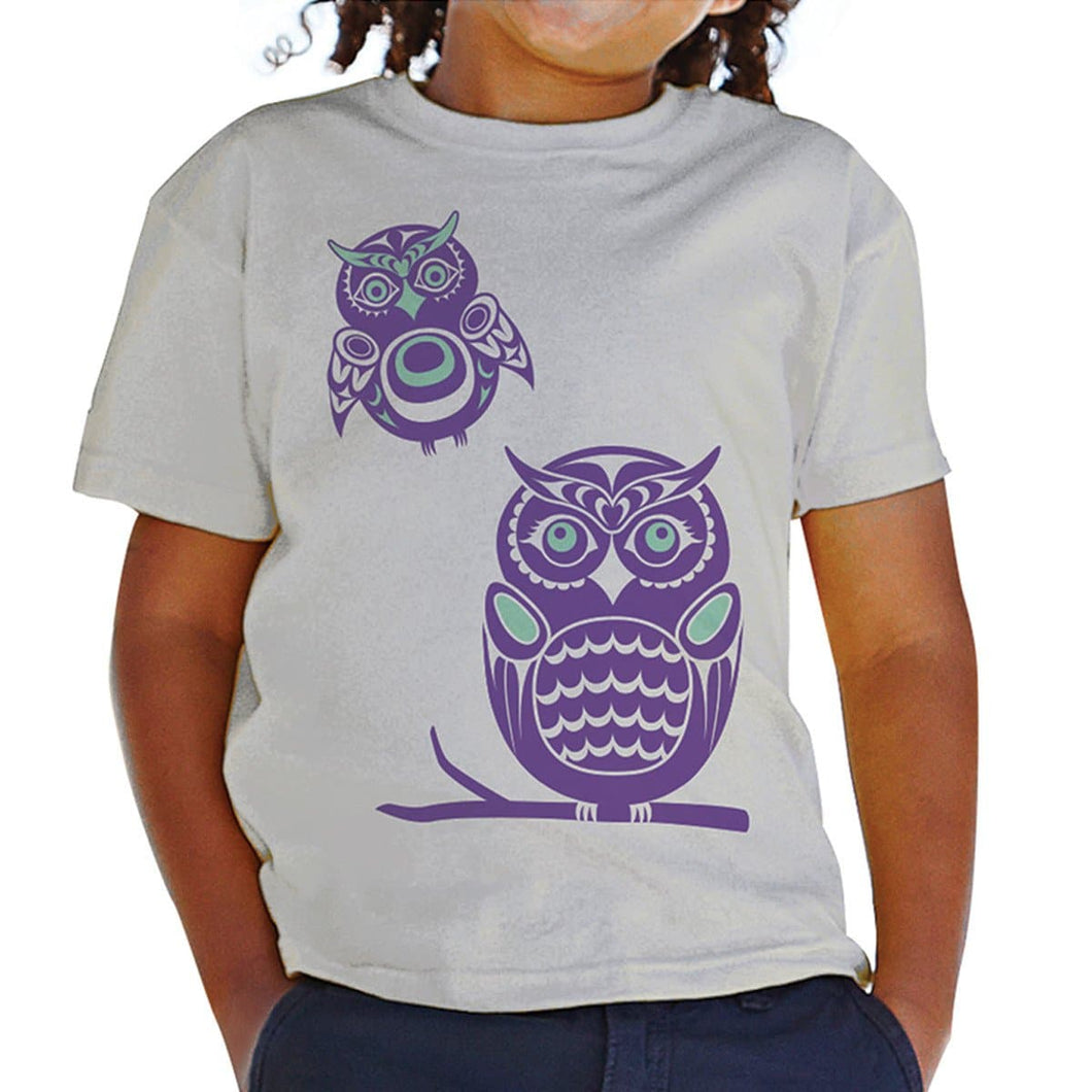 T-shirt (Youth) - Owls by Simone Diamond