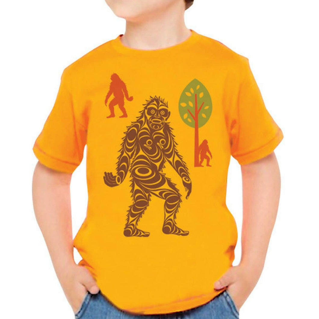 T-shirt (Youth) - Sasquatch by Francis Horne Sr.