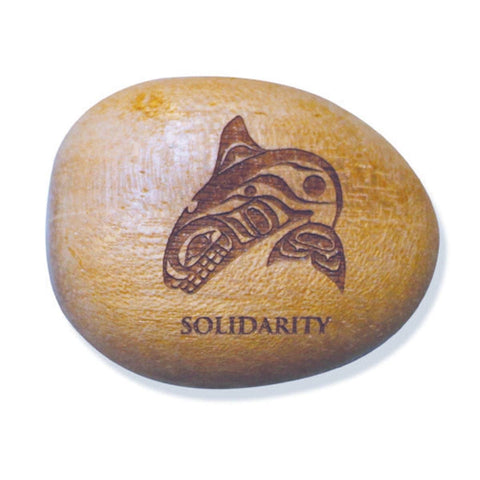 Totem Spirit - Whale (Solidarity) by Paul Windsor