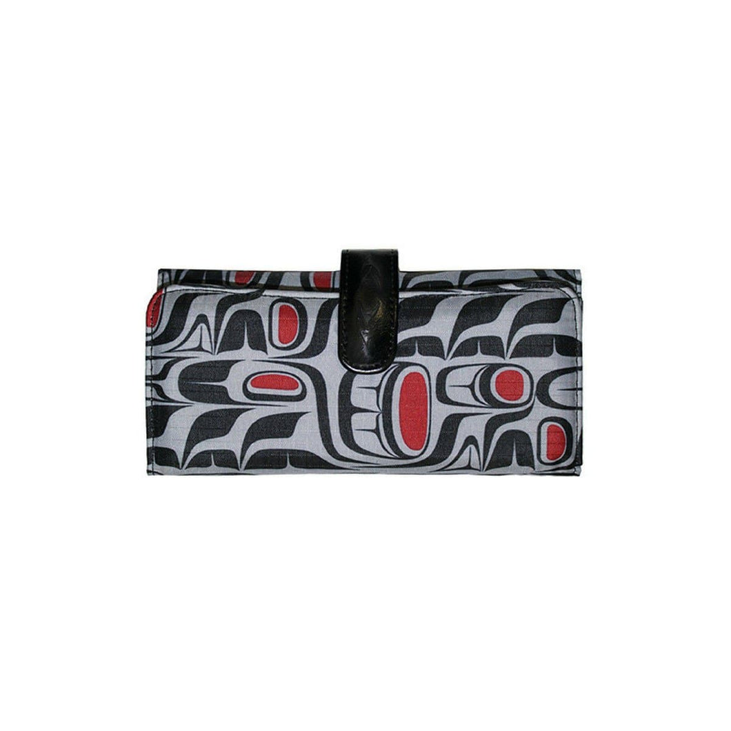 Wallet - Pacific Formlines by Paul Windsor