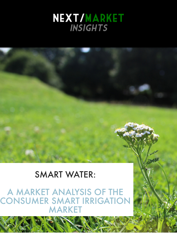 Smart Water: A Market Analysis of The Consumer Smart Irrigation Market