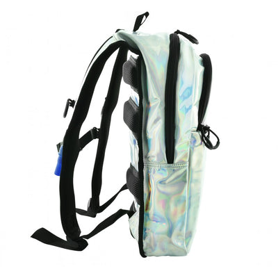 Silver Holographic Hydration Pack - Kandy Pack