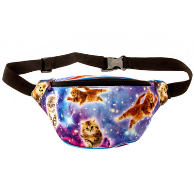 Light Up Galaxy Cat Fanny Pack - Kandy Pack