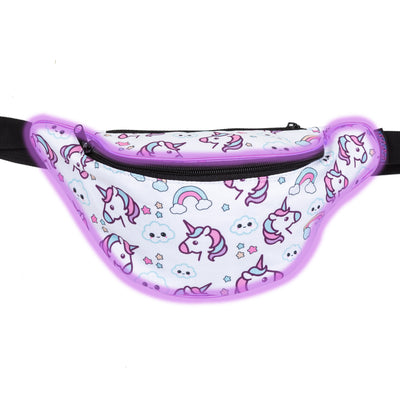 Light Up Rainbow & Unicorn Fanny Pack - Kandy Pack