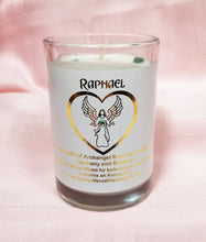 Load image into Gallery viewer, Archangel Intention Jar Candle ~ Pure Eco Soy w/Crystals ~ Your Choice