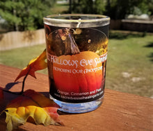 "Load image into Gallery viewer, All Hallows Eve Eco Soy Jar Candle 3x4"" - Halloween Ancestor Night Samhain"