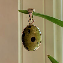 Load image into Gallery viewer, Atlantisite & Sterling Silver Australian Artisan Pendant