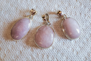 Kunzite - Gorgeous Oval Pendant High Vibration Heart Healing