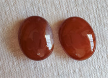 Load image into Gallery viewer, Carnelian ~ AAA+ Freeform Oval Palm Stones ~ Sacred Feminine Strength