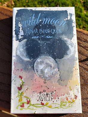 WILD MOON Lunar Phase 28 Card Oracle Deck
