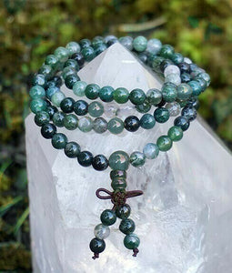 Gemstone Mala Prayer Beads ~ Various ~Divine Connection~Wishes