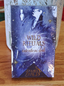 Wild Rituals 30 Card Intention Deck
