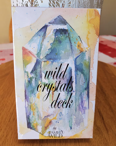 WILD CRYSTALS Healing Magick 33 Card Oracle Deck