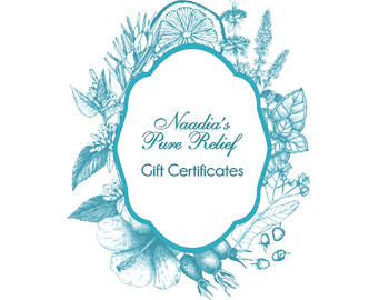 Buy a Naadia's Pure Relief gift certificate here.