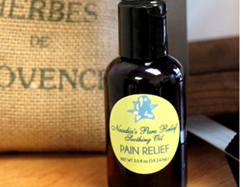 Buy a Naadia's Pure Relief soothing oils here