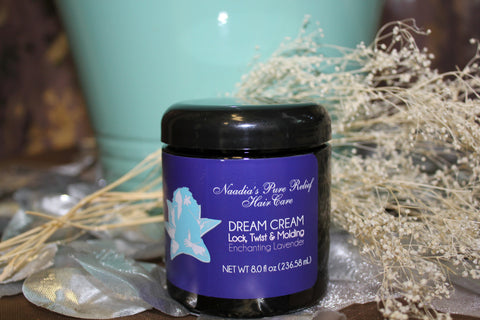 Dream Cream Lavender Lock, Twist and Molding Cream