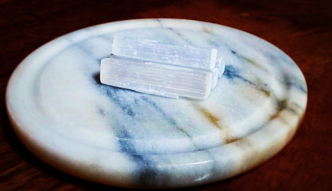 Selenite Wand
