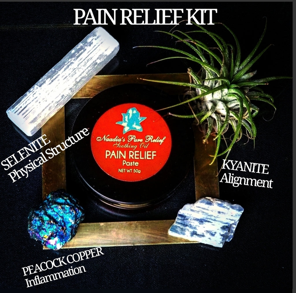 Pain Relief Paste and Crystal Kit
