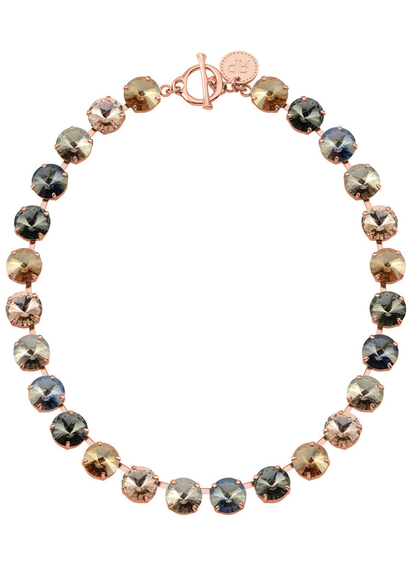Amber Rivoli Necklace