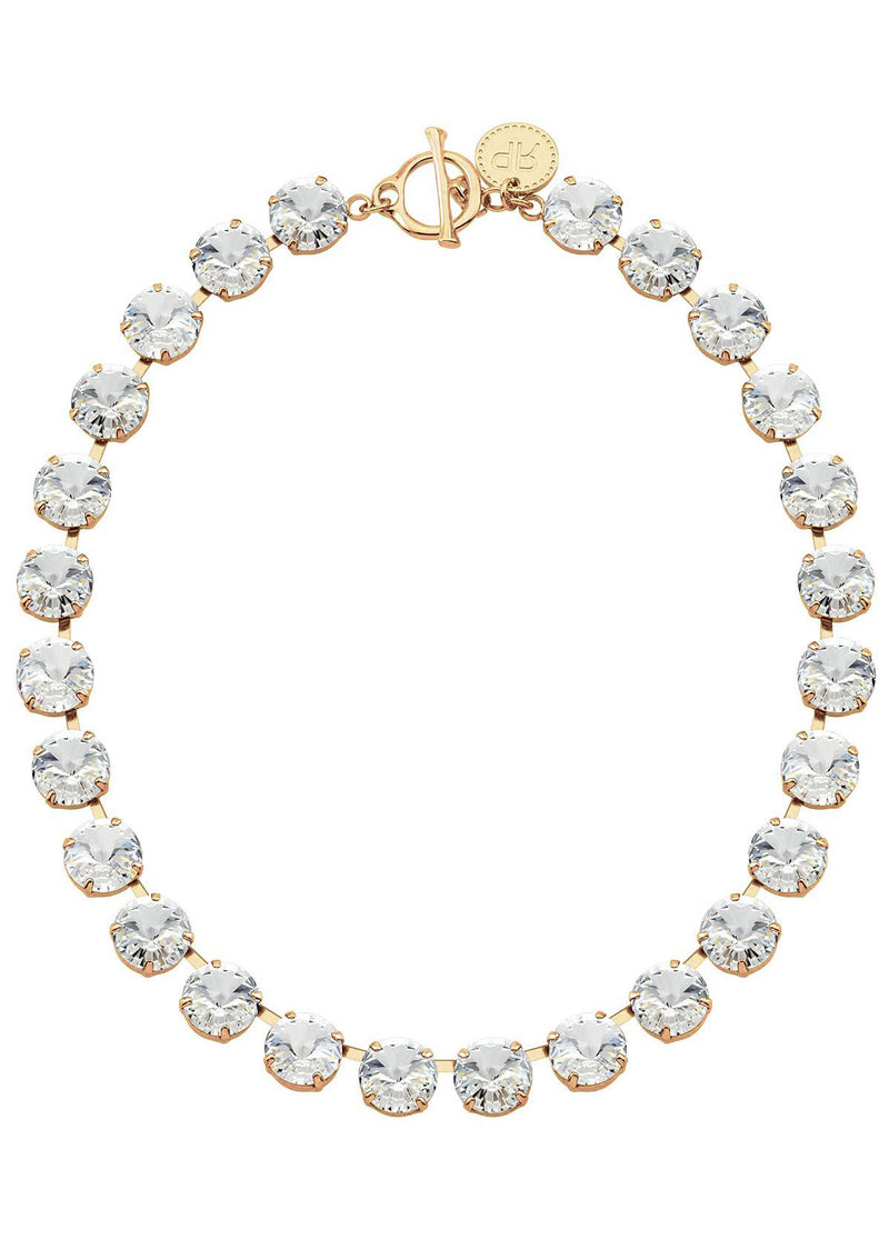 Crystal Rivoli Necklace