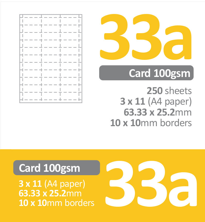 33up perforated paper signiq paper store