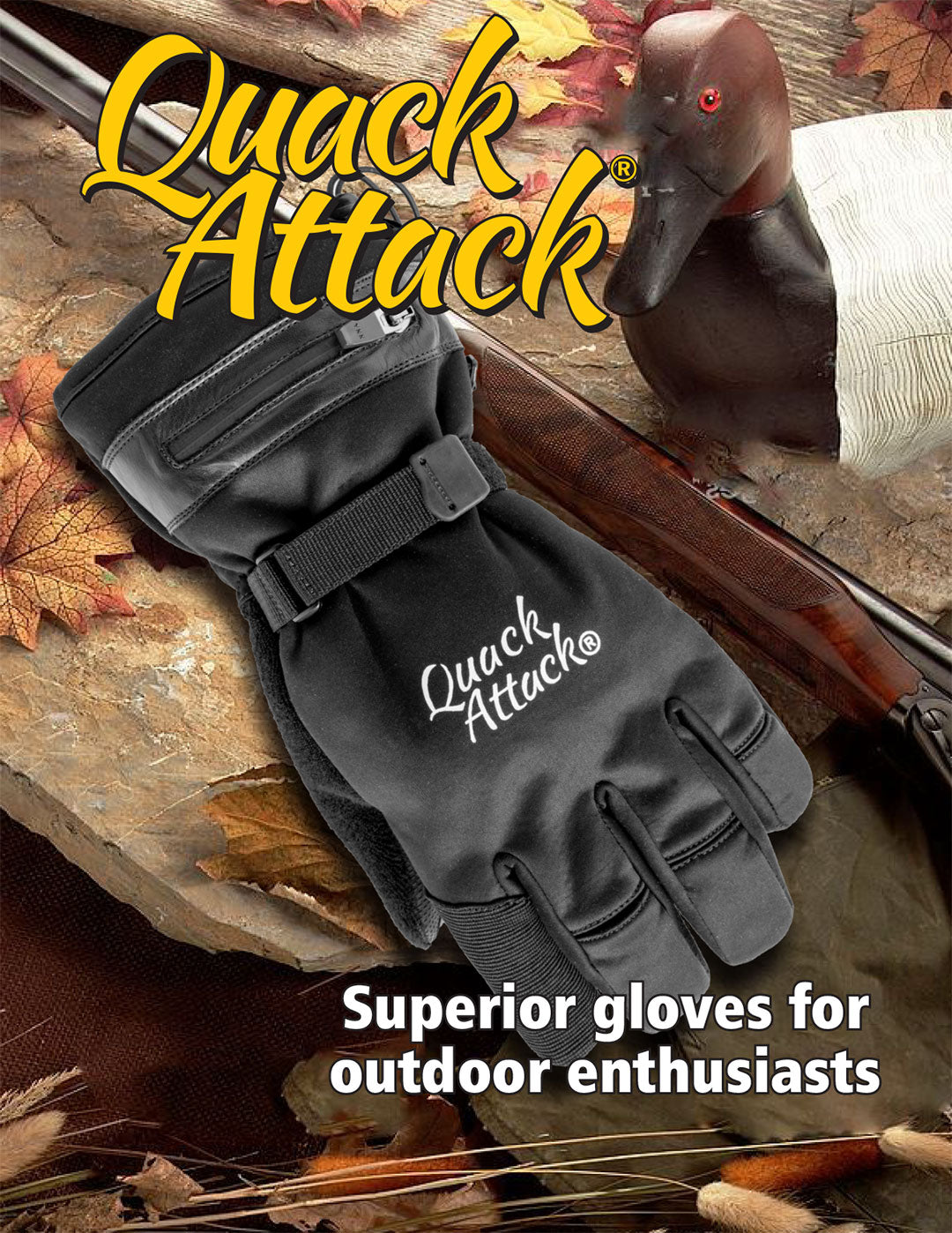 Hunting Glove Shadow Grass Blades Camo