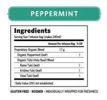 ORGANIC INDIA Tulsi Peppermint Tea Bags (contains 18)
