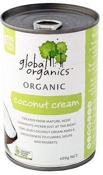 Global Organics Coconut Cream 400g