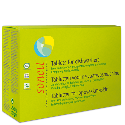 Sonett dishwasher tablets 25 tabs