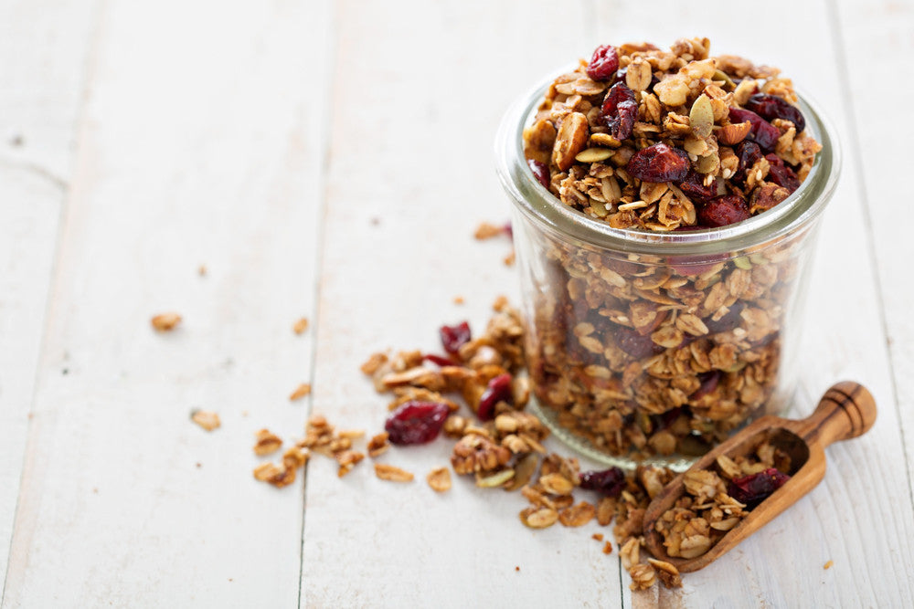 Our Organics Macadmia Granola 1kg THIS PRODUCT IS NOT GLUTEN FREE