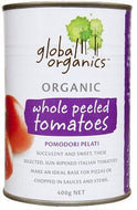 Global Organics Whole Tomatoes 400g