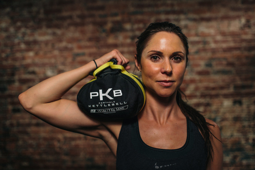 Tone-it-up with Portable Kettlebells