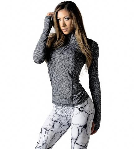 Climaxx-Air Long Sleeve Top in Black Ice