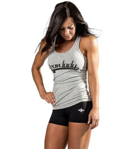 Iron Lady Tank Top in Grey