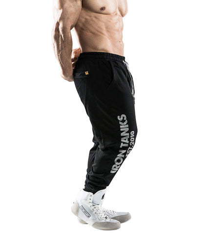 iron tanks track bottoms