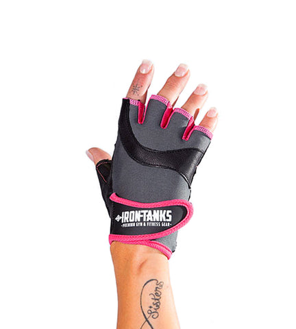 Iron Tanks Gloves Womens Icon Gym Glove