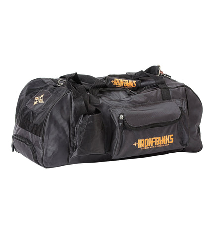 Iron Tanks Gym Bag Combat Gym Bag - Gunmetal Grey