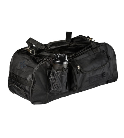 Iron Tanks Bodybuilding Powerlifting Combat Gym Bag - Raven Black