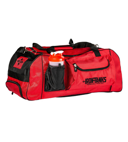 Iron Tanks Gym Bag Combat Gym Bag - Venom Red