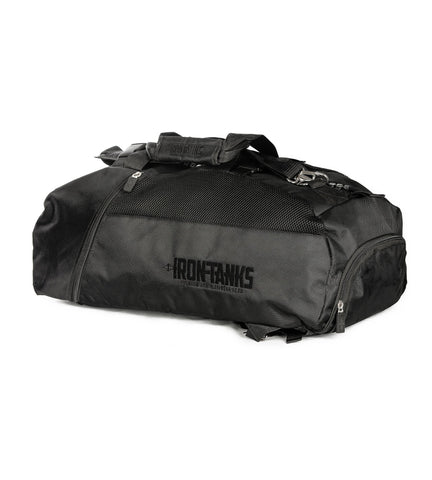 Iron Tanks Gym Bag Military Gym Bag - Raven Black