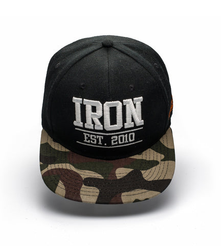 Iron Tanks Headwear Iron Snap Back Cap