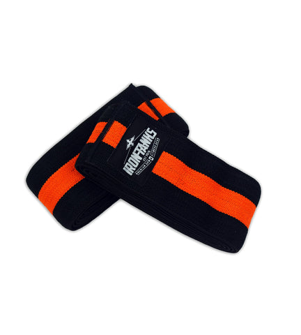 Iron Tanks Knee Wraps Bolster Knee Wraps - Single Stripe