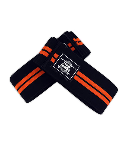 Iron Tanks Knee Wraps Ironclad Knee Wraps - Twin Stripes