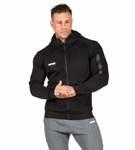 Iron Tanks Mens Hoodies Fusion Hoodie - Flux Black